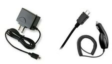 CAR + HOME CHARGER ACCESSORY BUNDLE KIT FOR JABRA CRUISER 2 BLUETOOTH HEADSET