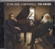ELTON JOHN  LEON RUSSELL  2010  CD  The union   MADE in EU  stampa EUROPEA