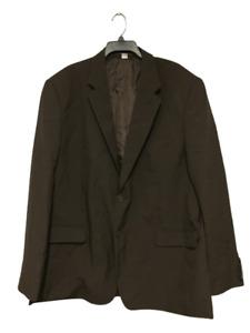 """Neckermann Travelmaster Brown Suit Size Chest 50"""" Waist 44"""" DH012 SS 09"""