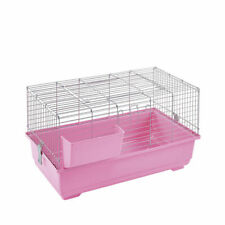 Indoor Rabbit Cage 80cm Pink Single Tier Brand New - Small Pet Guinea Pig