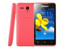 "Original Lenovo A396 4.0"" Sceen Android 2.3 Quad Core 3G WCDMA Mobile Phone Pink"