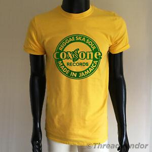 Reggae T-Shirt Coxsone Dodd Records Studio 1 one - ska 70s Retro jamaica 45's