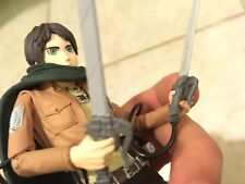 Attack On Titan Figure Eren Jaeger Mcfarlane Toys Poseable Stand