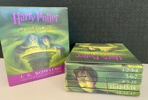 Harry Potter and the Half-Blood Prince by J K Rowling 17 CD AUDIO BOOK Boxed Set