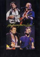 THE HIGHWAYMEN 'HIGHWAYMEN LIVE' DVD MIT JOHNNY CASH!!!