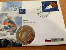 Slovenia 2011 3 euro stamp cover