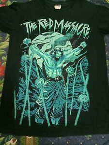 Rare Vintage The Red Massacre over prints T Shirt
