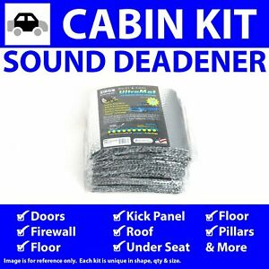 Heat & Sound Deadener for Early Nash In Cabin Kit 6285cm2