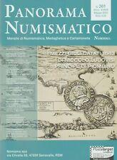 BIBLIOGRAFIA NUMISMATICA, Panorama Numismatico 361, Maggio 2020