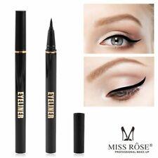 Black Liquid Eyeliner Miss Rose Long-Lasting Women Waterproof Quick Dry Beauty