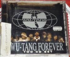 wu tang clan, wu tang forever, hip hop, rap, album, 2 cd's, 1997, vgc