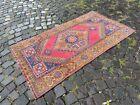 Handmade rug, Wool Turkish rug, Vintage rug, Area Rug, Wool rug | 3,0 x 5,3 ft