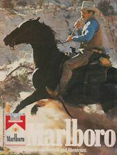 Marlboro Zigaretten - Reklame Werbeanzeige Original-Werbung 1979 (7)
