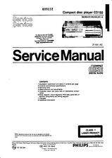 Service Manual-Anleitung für Philips CD 150