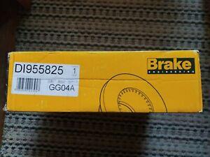 BRAKE ENG DI955825 BRAKE DISC PAIR Rear vauxhall astra G H meriva Zafira 569109