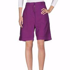 """$380 NWT Authentic ACNE STUDIOS Purple Cotton Bermuda Chino Shorts 36 W-31"""""""