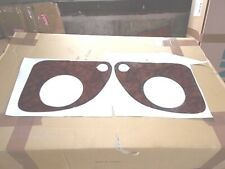 WOOD EFFECT INSERTS FOR THE SPEAKER COVERS of  SAAB 900 CONVERTIBLE