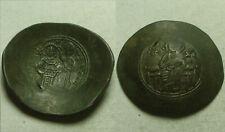 Rare genuine ancient BYZANTINE coin Manuel I Comnenus Virgin Mary Christ cross
