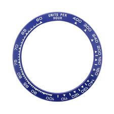 CERAMIC BEZEL FOR ROLEX DAYTONA 16500 16520 116500 116520 BLUE W/WHITE ENGRAVED