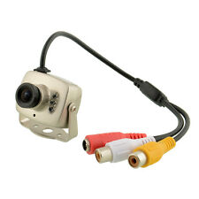 Mini Wired SPY DVR CCTV Security Camera Camcorder Monitor NTSC Portable
