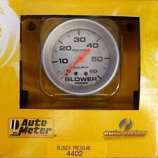 Auto Meter 4402 Ultra Lite Mechanical Boost Pressure Gauge 0-60 PSI 2 5/8