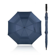 TOMSHOO 61 Inch Oversized Automatic Auto Open Golf Umbrella Outdoor Extra B9B7