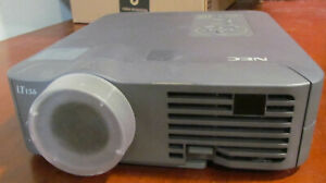 NEC LT155  LCD Multimedia Projector 1576 Lamp Hours