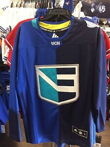 2016 World Cup of Hockey Team Europe Adidas Jersey Replica Size Small Blue