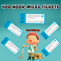🎫400 NOOK MILES TICKETS 🎫 Animal Crossing New Horizons 🎫 FASTEST DELIVERY