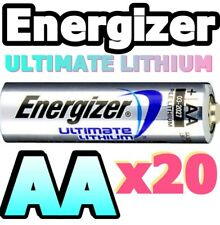 *EXPIRY 2037* 20 x AA ULTIMATE LITHIUM BATTERIES L91 1.5v TOP QUALITY WORLD No.1