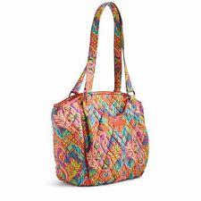 VERA BRADLEY Glenna Satchel Shoulder Bag Paisley in Paradise- NWT