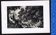 The Oak Wood - Abraham Govaerts - 1939 Rotogravure