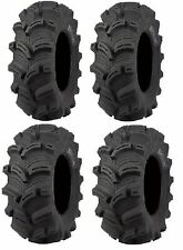 Full set of Kenda Executioner (6ply) 28x9-14 and 28x11-14 ATV Tires (4)