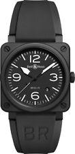 BR 03-92 BLACK MATTE | New Bell & Ross Instruments Black Ceramic 42mm Mens Watch