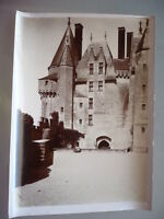 PHOTO 1899 CHATEAU DE LANGEAIS INDRE ET LOIRE