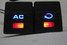 VW Golf 3 Vento Klima Umluft Schalter Klimaschalter Blau Rot Weiß LED