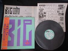 Yes Big Generator Japan Promo Label Vinyl LP OBI Jon Anderson Trevor Rabin PROG