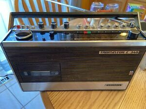 Vintage Grundig Transistor Recorder C340 radio cassette 1971 Works