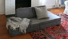 New Nugget Couch Harbor Charcoal Kids Comfort Limited Edition IN HAND Ships ASAP