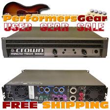 Used Crown Macro-Tech  MA9000i 3500 Watt Dual Channel Power Amplifier