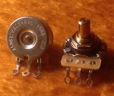 CTS 250K - Dish Back - Audio Taper SOLID Shaft POT / Potentiometer - 450G - 1X