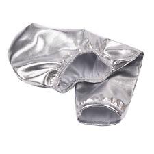 Mens Lingerie Faux Leather C-string Crotchless Bikini Briefs Clubwear Underwear