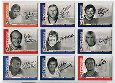 2009-10 ITG 1972 The Year In Hockey Autographs  #ABC Bobby Clarke SP