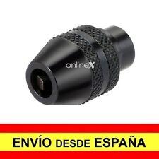 Portabrocas de Cierre Rápido de 0,8 a 3,2 mm Cabezal Taladro Dremel a2645