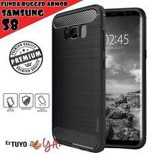 Funda Samsung Galaxy S8 Estuyoya Rugged Armor Galaxy S8 Carcasa slim shock negro