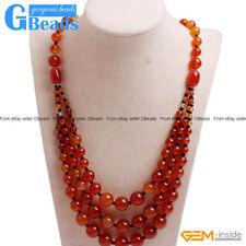 Alloy Stone Beaded Costume Necklaces & Pendants
