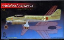 Unicraft Models 1/72 HEINKEL He.P.1073.01-02 German Turbojet Fighter Project