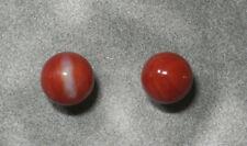 ~9.2mm & 9.1mm.2pcs (ec1284) Beauty Hand Carving Cameo ~(coral)