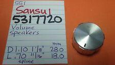 sansui 5317720 volume lautsprecher knauf 881 771 661 551 441 receiver