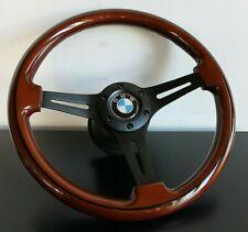 Steering Wheel BMW Wood Steering Wheel E9 E12 E21 E23 E24 2002 TI E28 1973-1984